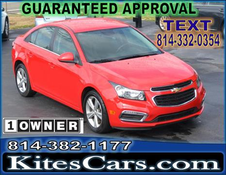2016 Chevrolet Cruze Limited for sale at Kightlinger Auto Sales, Inc in Meadville PA