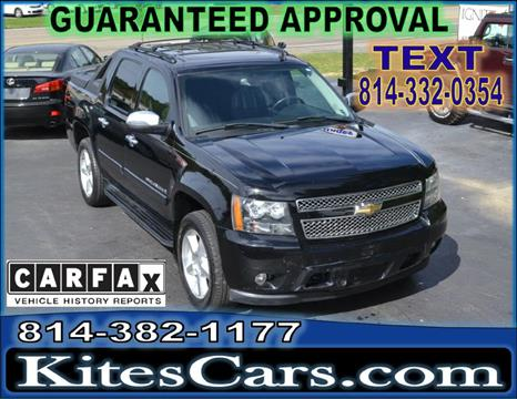 2008 Chevrolet Avalanche for sale at Kightlinger Auto Sales, Inc in Meadville PA