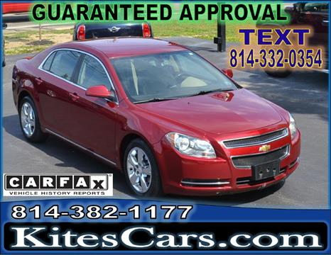 2011 Chevrolet Malibu for sale at Kightlinger Auto Sales, Inc in Meadville PA