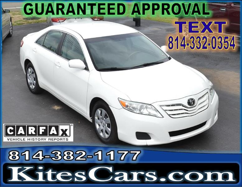 2010 Toyota Camry for sale at Kightlinger Auto Sales, Inc in Meadville PA