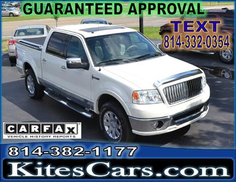 2006 Lincoln Mark LT for sale at Kightlinger Auto Sales, Inc in Meadville PA