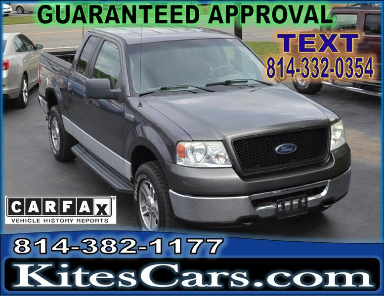 2006 Ford F-150 for sale at Kightlinger Auto Sales, Inc in Meadville PA