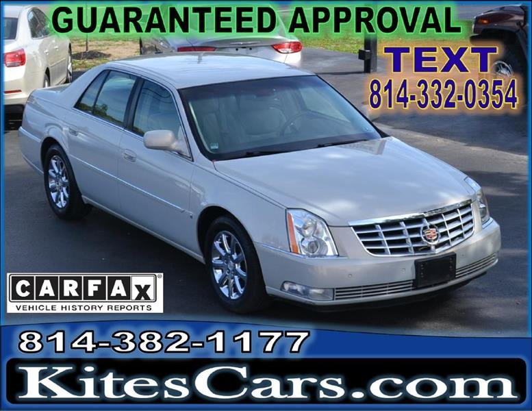 2008 Cadillac DTS for sale at Kightlinger Auto Sales, Inc in Meadville PA