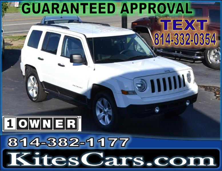 2015 Jeep Patriot for sale at Kightlinger Auto Sales, Inc in Meadville PA