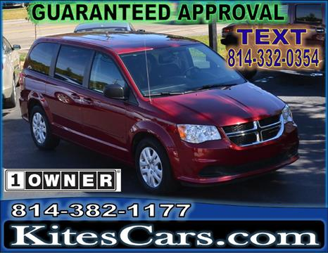 2016 Dodge Grand Caravan for sale at Kightlinger Auto Sales, Inc in Meadville PA