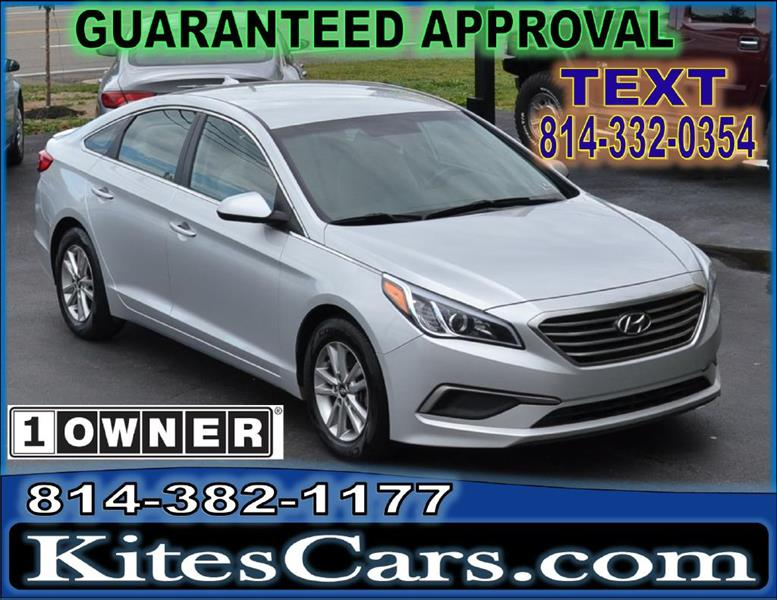 2016 Hyundai Sonata for sale at Kightlinger Auto Sales, Inc in Meadville PA