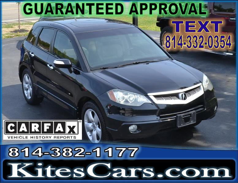 2007 Acura RDX for sale at Kightlinger Auto Sales, Inc in Meadville PA