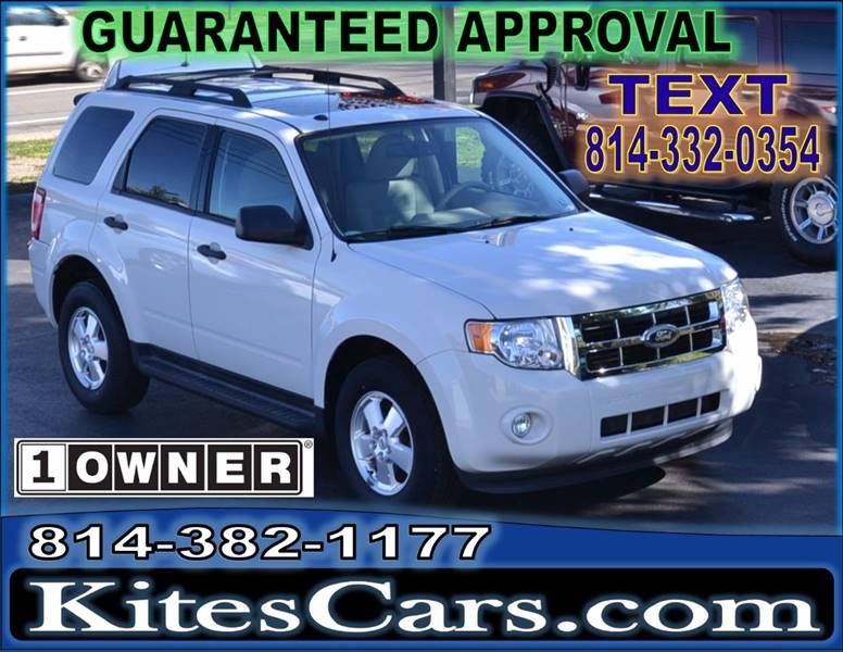 2011 Ford Escape for sale at Kightlinger Auto Sales, Inc in Meadville PA