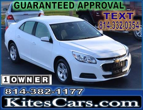 2016 Chevrolet Malibu Limited for sale in Meadville, PA