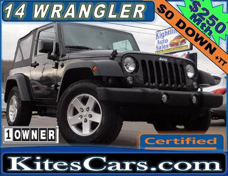 2014 Jeep Wrangler for sale in Meadville, PA