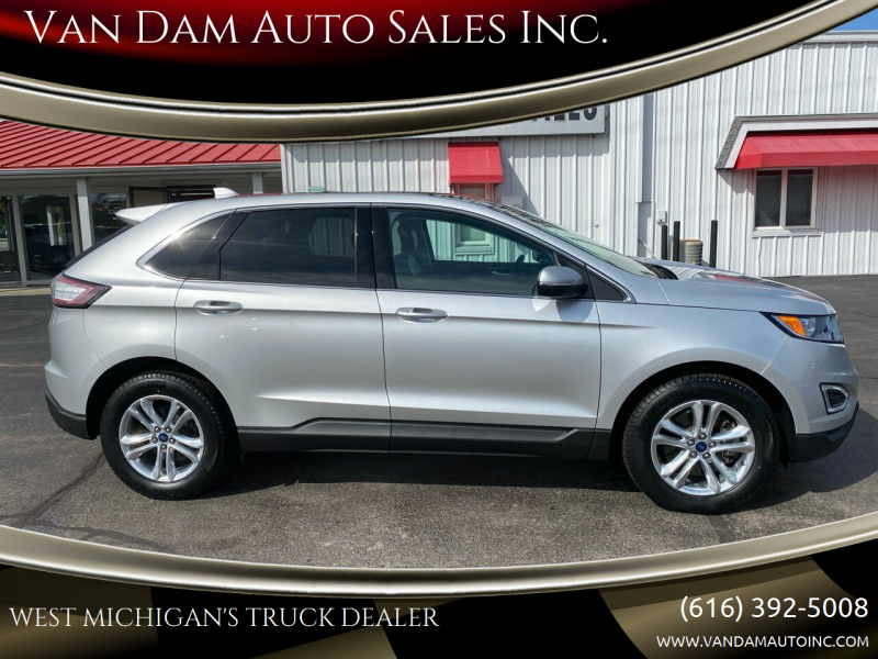 2018 Ford Edge for sale at Van Dam Auto Sales Inc. in Holland MI