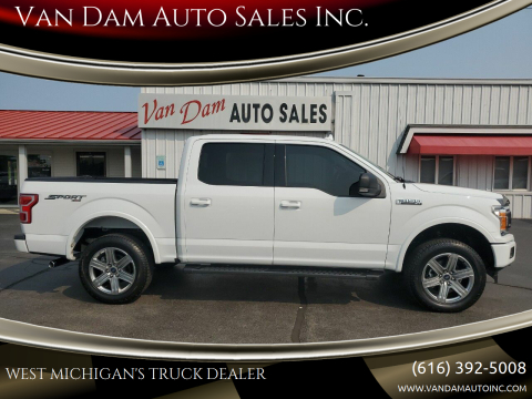 2018 Ford F-150 for sale at Van Dam Auto Sales Inc. in Holland MI