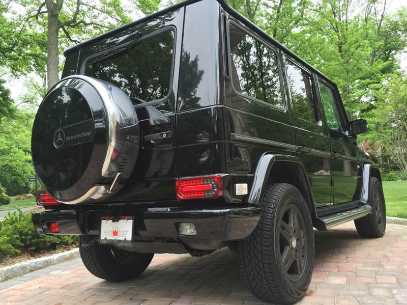 2003 Mercedes-Benz G-Class G500 AWD 4MATIC 4dr SUV w NAVIGATION & BACK-UP CAMERA - Great Neck NY
