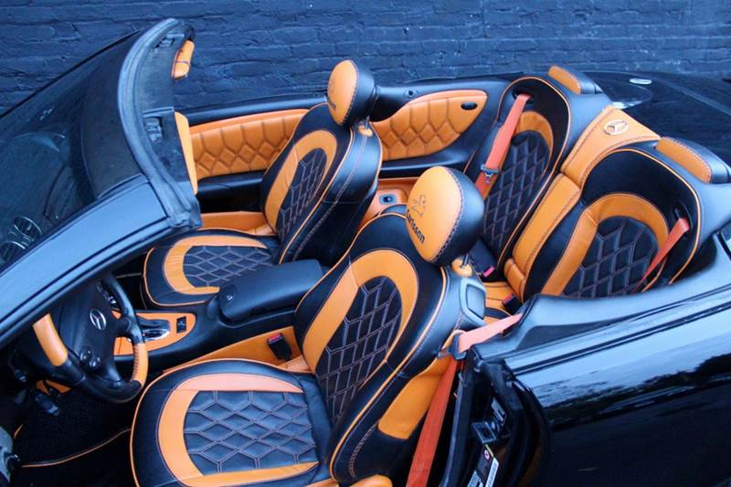 2006 Mercedes-Benz CLK CLK500 2dr Convertible w NAVIGATION, AMG SPORT PACKAGE, HARMAN KARDON PREMIUM SOUND, & FULLY CUSTOMI - Great Neck NY