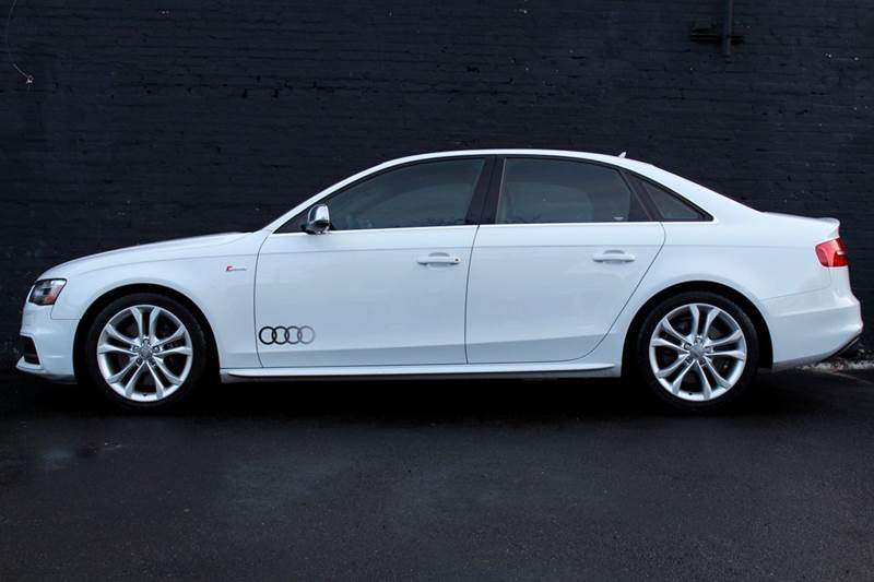 2013 Audi S4 3.0T quattro Premium Plus AWD 4dr Sedan 6M w MMI NAVIGATION PLUS, REAR-VIEW CAMERA w PARK ASSIST, AU - Great Neck NY