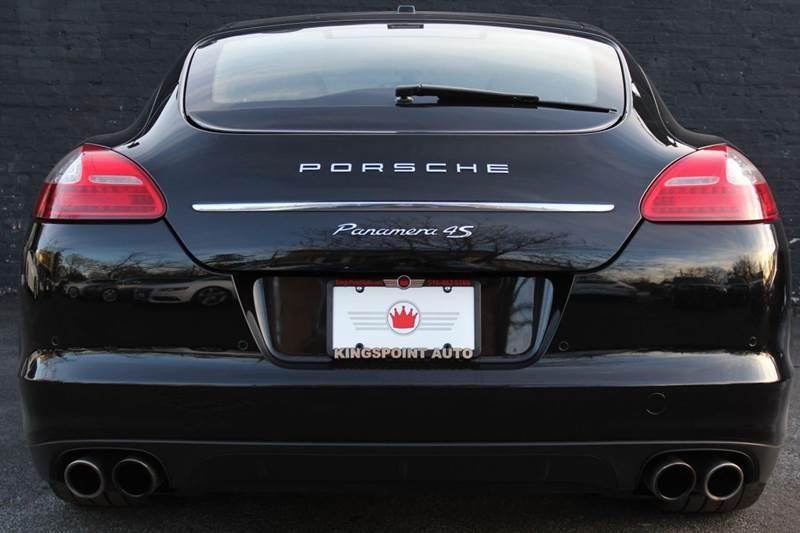 2010 Porsche Panamera 4S 4dr Sedan W NAVIGATION TINEO INTERIOR