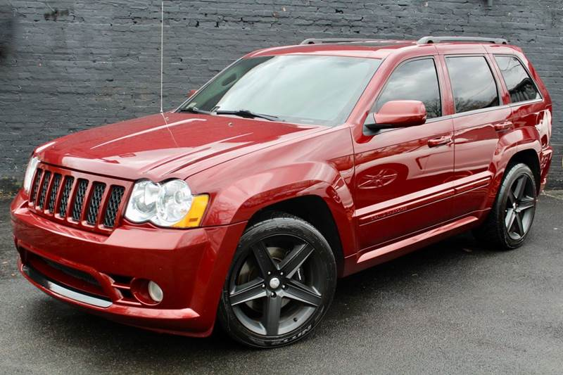 2008 jeep grand cherokee srt8 4x4 4dr suv w navigation rear view camera rear dvd entertainment. Black Bedroom Furniture Sets. Home Design Ideas
