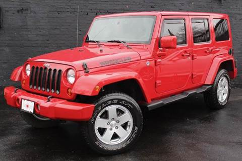 2011 Jeep Wrangler Unlimited for sale at Kings Point Auto in Great Neck NY