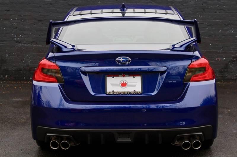 2017 Subaru WRX AWD Limited 4dr Sedan 6M - Great Neck NY
