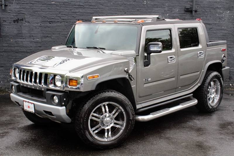2008 hummer h2 sut 4x4 luxury 4dr crew cab in great neck ny kings point auto. Black Bedroom Furniture Sets. Home Design Ideas
