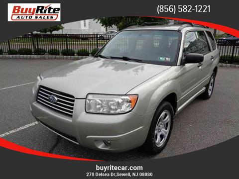 2007 Subaru Forester for sale in Sewell NJ