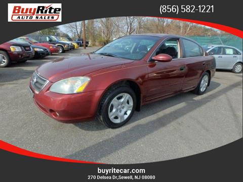 2002 Nissan Altima for sale in Sewell, NJ