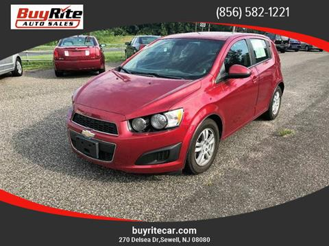 2012 Chevrolet Sonic for sale in Sewell NJ