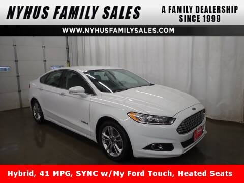 Ford Fusion Hybrid For Sale >> Ford Fusion Hybrid For Sale In Perham Mn Nyhus Family Sales