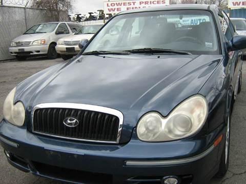 2002 Hyundai Sonata for sale at JERRY'S AUTO SALES in Staten Island NY