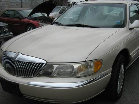 2000 Lincoln Continental for sale at JERRY'S AUTO SALES in Staten Island NY