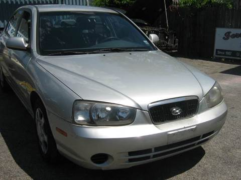 2002 Hyundai Elantra for sale at JERRY'S AUTO SALES in Staten Island NY