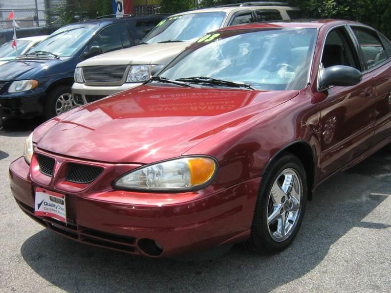 2003 Pontiac Grand Am for sale at JERRY'S AUTO SALES in Staten Island NY