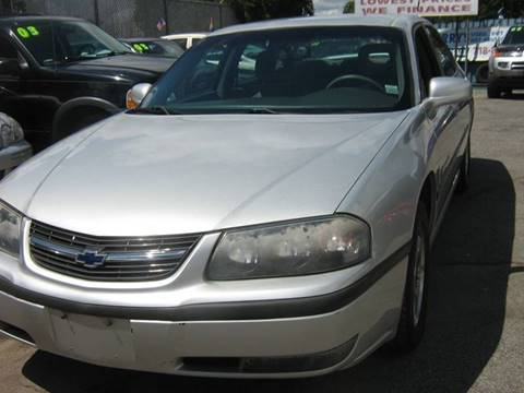 2001 Chevrolet Impala for sale at JERRY'S AUTO SALES in Staten Island NY