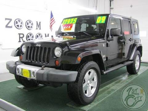 2009 Jeep Wrangler Unlimited for sale in Gonic, NH