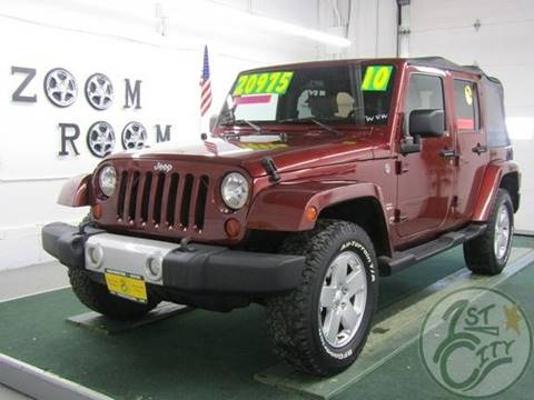2010 Jeep Wrangler Unlimited for sale in Gonic, NH
