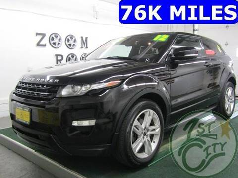 2012 Land Rover Range Rover Evoque Coupe for sale in Gonic, NH