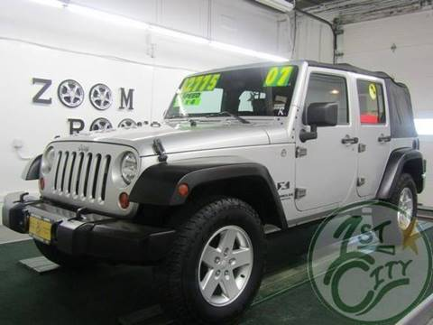 2007 Jeep Wrangler Unlimited for sale in Gonic, NH