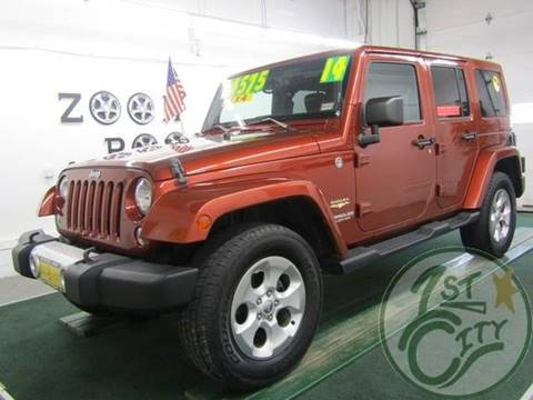 2014 Jeep Wrangler Unlimited for sale in Gonic, NH