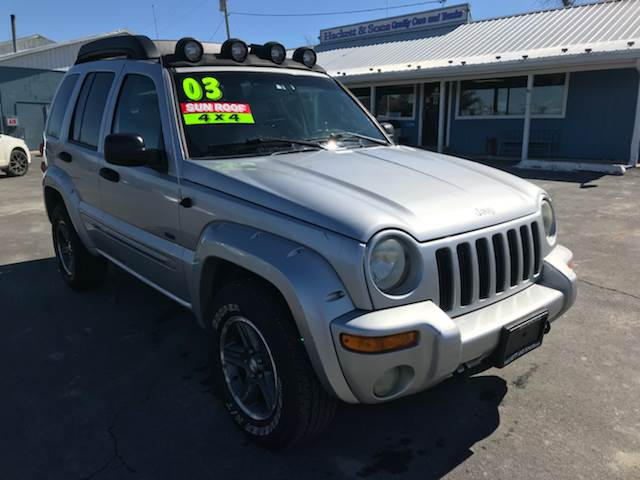 2003 Jeep Liberty for sale at HACKETT & SONS LLC in Nelson PA