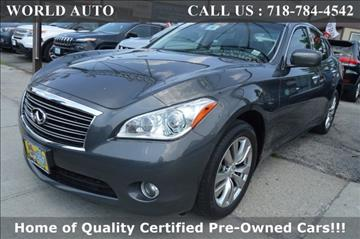 2013 Infiniti M37 for sale in Long Island City, NY