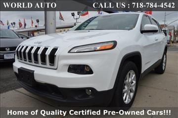 2014 Jeep Cherokee for sale in Long Island City, NY