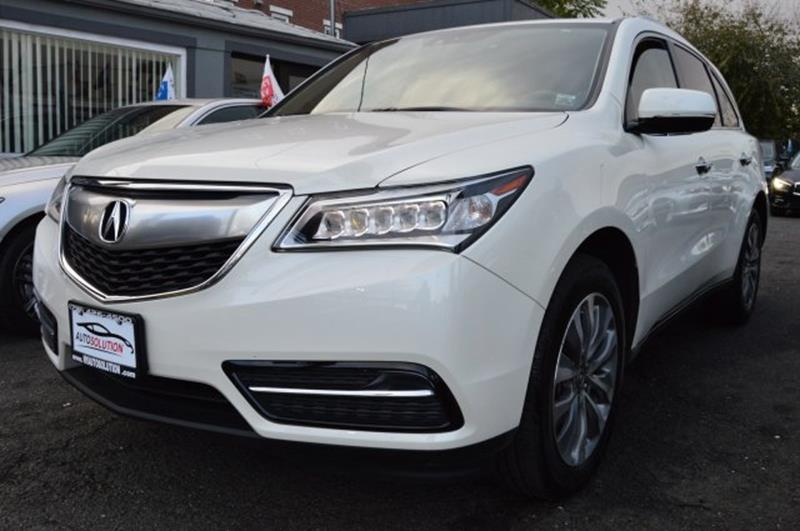 Acura Mdx SHAWD Dr SUV WTechnology Package In Long Island - Acura dealers on long island