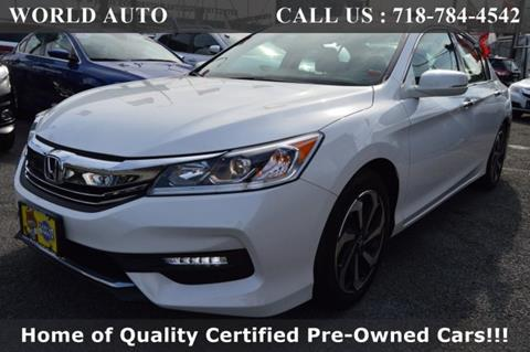 2016 Honda Accord for sale in Long Island City, NY