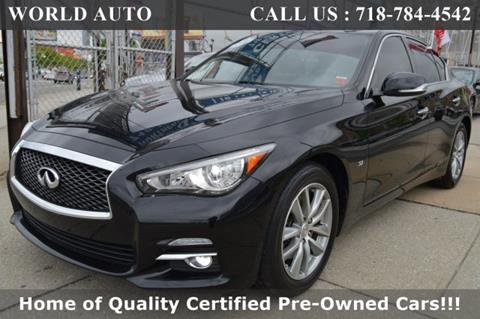 2015 Infiniti Q50 for sale in Long Island City, NY