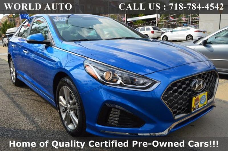 Hyundai Long Island City >> 2019 Hyundai Sonata Sel 4dr Sedan In Long Island City Ny World Auto