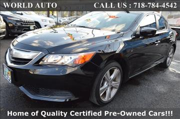 2015 Acura ILX for sale at World Auto in Long Island City NY