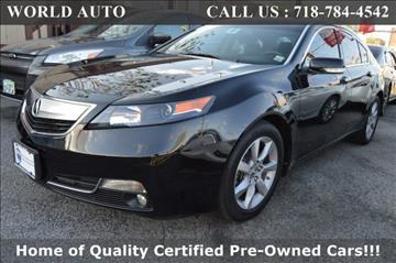 2014 Acura TL for sale at World Auto in Long Island City NY