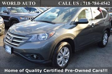 2014 Honda CR-V for sale at World Auto in Long Island City NY