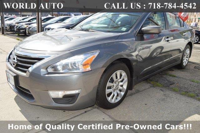 2014 Nissan Altima for sale at World Auto in Long Island City NY