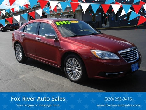 2012 Chrysler 200 for sale in Princeton, WI